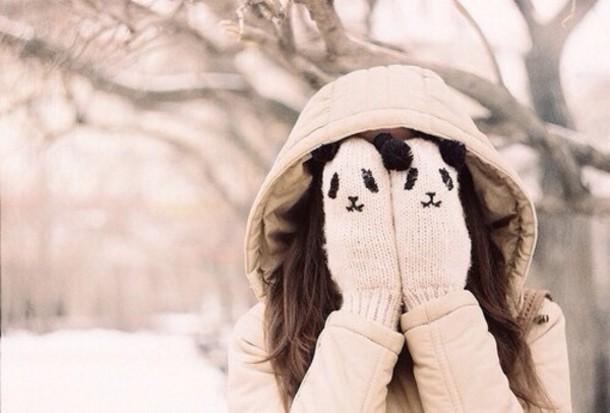 Handschoenen koude handen