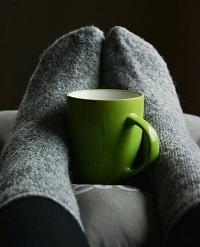 Koude voeten opwarmen