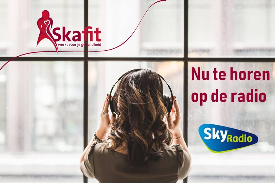 Skafit te horen op de radio